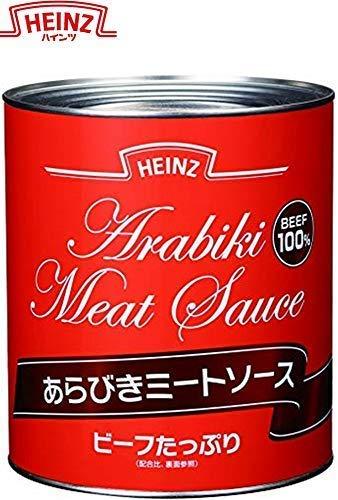 ハインツ あらびきミートソース 【牛肉100%使用】 3kg