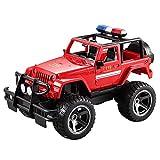 JY&WIN Rock Crawler Car Remote Control Truck Toys Modelo RC eléctrico para niños Inalámbrico Competitivo Racing Impermeable Anticolisión Escalada de Alta Velocidad ABS Recargable Flexible Ligero