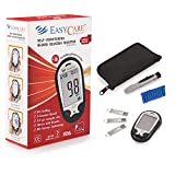 EASYCARE Blood Glucose Monitor (1st Talking Meter in India) Kit : 50 Test