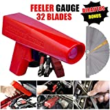 Engine Timing Light with Feeler Gauge 32 Blades,Inductive Timing Light...