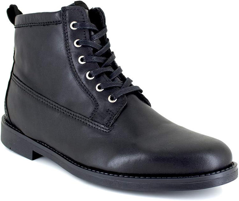 J.Bradford Low Boots Black Leather JB-TIGNES