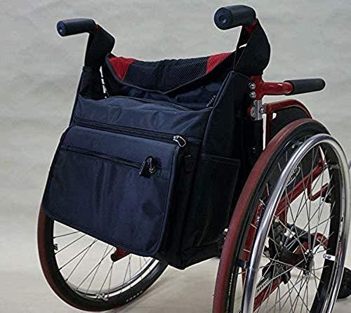 Mochila para Silla de Ruedas Bolsa de Almacenamiento-Bolsa de Viaje Universal Caminantes/sillas de Transporte-Cesta Ligera para Ordenador portátil para discapacitados-Bolsa de Rodillo