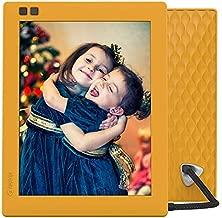 Nixplay Seed 8 Inch WiFi Digital Photo Frame Mango - Share Moments Instantly via App or E-Mail