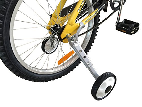 CHILDHOOD Adjustable Variable Speed Bike Training Wheels for Girls Boys 18 to 22 Inch