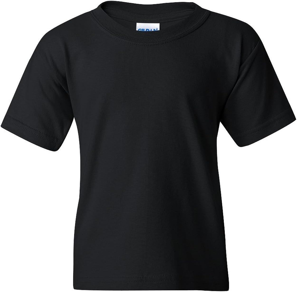 Heavy Cotton T-Shirt (G500B) Black, L (Pack of 12)