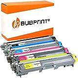 Bubprint 4 Tóner Compatible con Brother TN-241 TN-245 TN245 para Impresora HL-3140CW HL-3150CDW MFC-9330CDW MFC-9340CDW Negro Cian Magenta Amarillo
