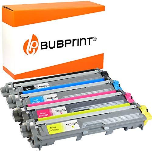 4 Bubprint Toner kompatibel für Brother TN-241 TN-245 für DCP-9015CDW DCP-9020CDW HL-3140CW HL-3150CDW HL-3170CDW MFC-9130CW MFC-9140CDN MFC-9330CDW MFC-9340CDW Set