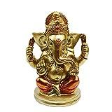Indian God Lord Ganesha Statue - Hindu God Ganesh Idol for Car Dashboard - India Wedding Diwali Gifts Meditation Yoga Room Altar Decoration