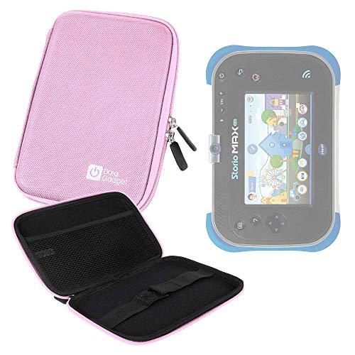 Duragadget Hartschalentasche für Vtech Storio Max XL 2.0 Kinder-Tablet (blau oder rosa 3480 - 194622) - wasserfest