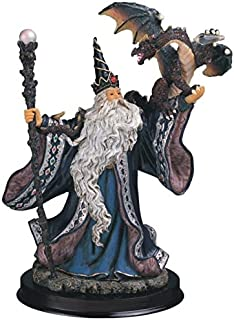 StealStreet SS-G-935 Wizard Collection Blue Sorcerer Fantasy Figure Decoration Collectible