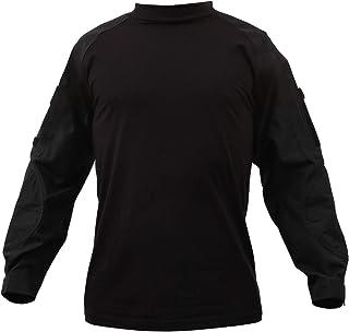 Rothco ミリタリー NYCO FR 耐火コンバットシャツ ブラック XL