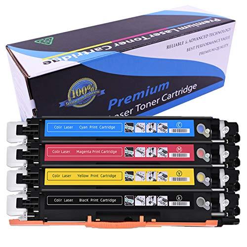 Cartucho de tóner CRG-329 CRG-729 CRG329 CRG729 (1Bk,1C,1Y,1M) compatible con Canon LBP-7010 LBP-7018 LBP-7010C LBP-7018C