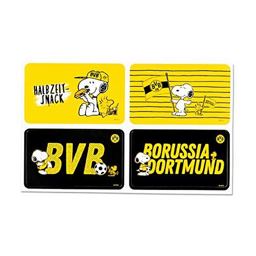 Borussia Dortmund BVB-Aufkleber Snoopy one Size