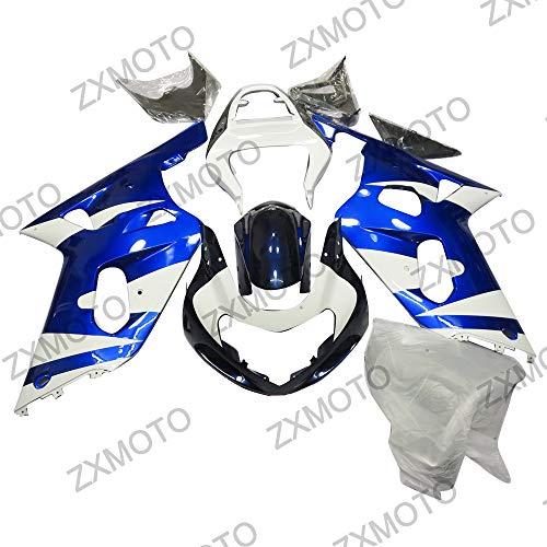 ZXMOTO Motorcycle Bodywork Fairing Kit for Suzuki GSX-R 600 GSXR 750 2001 2002 2003 Painted With Graphic