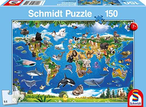 Schmidt Spiele- Lococo-Puzzle per Bambini, 150 Pezzi, Multicolore, 56355
