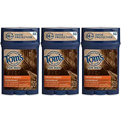 Tom's of Maine Men's Long Lasting Wide Stick Deodorant