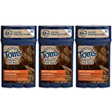 Tom's of Maine Men's Long Lasting Deodorant, Deep Forest, 2.25 Ounce (Pack of 3) by Tom's of Maine