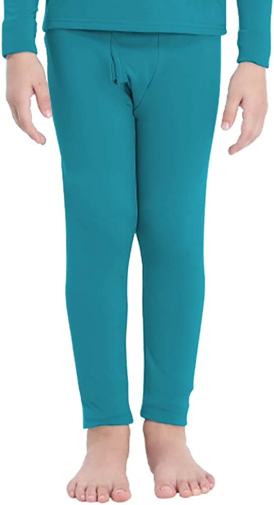MANCYFIT Thermal Pants for Boys Leggings Under Lined Long Excellent Fleece Fresno Mall