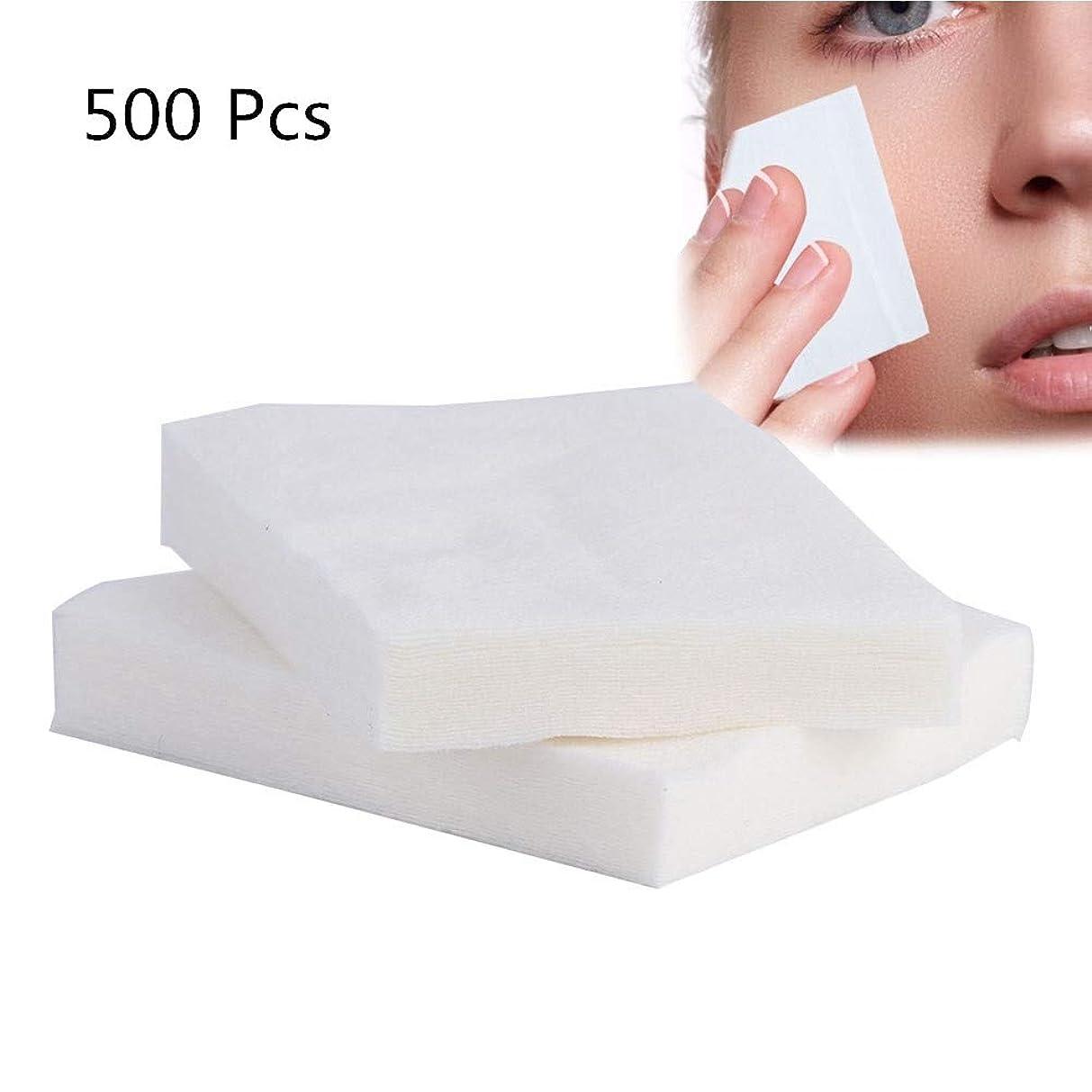 残りサイクル貼り直す500ピース綿棒、化粧用メイク落とし、洗顔、ウェット/ドライ/フェイス/メイク落とし用
