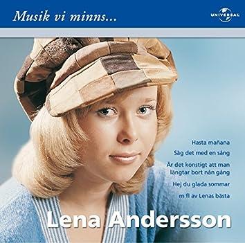 Lena Andersson/Musik vi minns