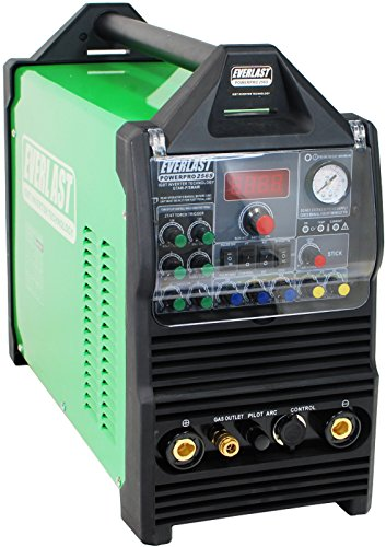 Everlast PowerPro 256S 250a Tig Stick Pulse 60a plasma cutter Multi Process Welder