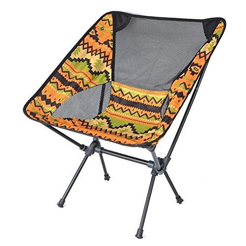 showyow Taburete Plegable portátil al Aire Libre, Silla de Playa para Acampar y Pescar, Ideal para Acampar, Pescar, Viaje, Barbacoa
