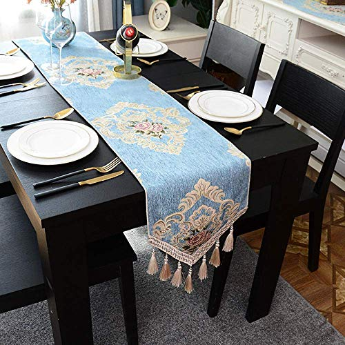 WYJW Tafelloper Europese tafel vlag kabinet salontafel tafelkleed kast schoenen stof deksel handdoek tafel decoratie stof lange bed vlag dressoir stof @ 30 * 180 cm
