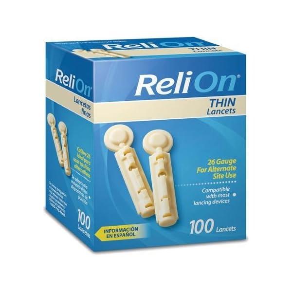 buy ReliOn Thin Lancets, 100 count Diabetes Care