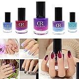 26 Colores de la Esmaltes Cambia Color Temperatura de Uñas en Gel Permanente Baratos por ESAILQ