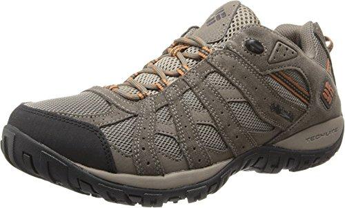 Columbia Chaussures de randonnée pour Homme - Marron - Pierre de Galet - Gingembre foncé, 44 EU Weit