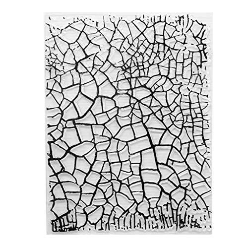 GREEN/&RARE Cadre Clair Stamp Seal Crafts Little Transparente en Silicone DIY Cadre Joint de Tampon Scrapbooking Album Photo ext/érieur d/écoratif Tampon/à Vos Enfants