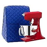 Large Size Stand Mixer Cover, Dustproof 4.5-6 Quart Kitchen Aid Organizer Bag, Mixer Covers Fits All Tilt Head & Bowl Lift Models for Kitchen Aid, Sunbeam, Cuisinart, Hamilton Beach Mixers(Blue)