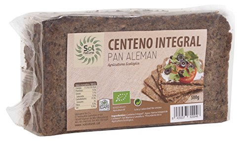 Sol Natural pan alemán centeno Integral 500 GR