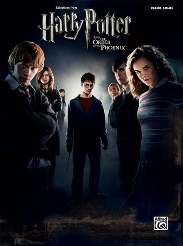 Harry Potter And The Order Of The Phoenix (Piano Solos) (English Edition)