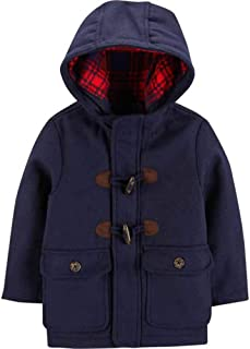 Baby Boys' Infant Faux Wool Toggle Jacket