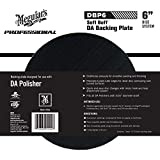 Meguiar's 6' DA Backing Plate – Pair With Foam or Microfiber Pads for Dual Action Polishing – DBP6