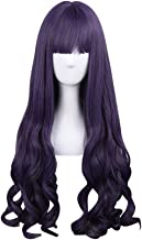 APE Halloween Costume Cosplay Wig Lolita Natural Straight Wavy 31.5 Inch Long Wig Purple Wig Women's Mid Long Wig for Daily Use/TV or Film Character Cosplay/Party/Performance