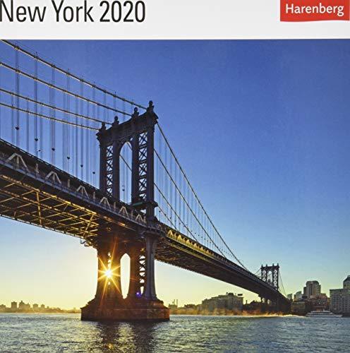 New York Postkartenkalender 2020. Wochenkalendarium. Blockkalender. Format 16 x 17,5 cm