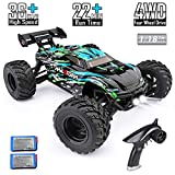 HAIBOXING RC Cars Hailstorm, 36+KM/H High Speed 4WD 1:18 Scale Electric...