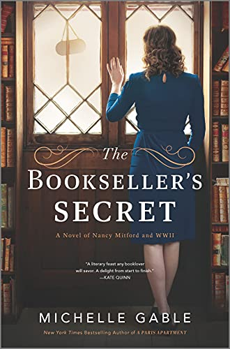 The Bookseller's Secret: A Novel of Nancy Mitford and WWII