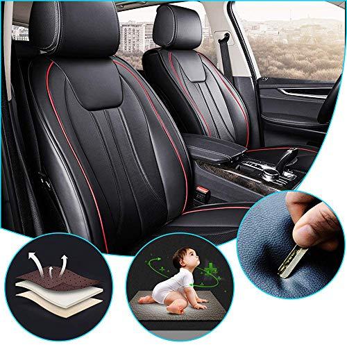 HzvtCtarmsu Für TT 2010 mdash 2013 Autositzbezüge Sets PU-Leder vorne und hinten Sitzschützer Abdeckung Leatherette Auto Kissen Sitzbezug