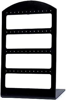 portátiles 48 Agujeros Pendiente de pie duraderos Pendientes exhibición de la joyería Organizador plástico Colgador Shows Creative Design