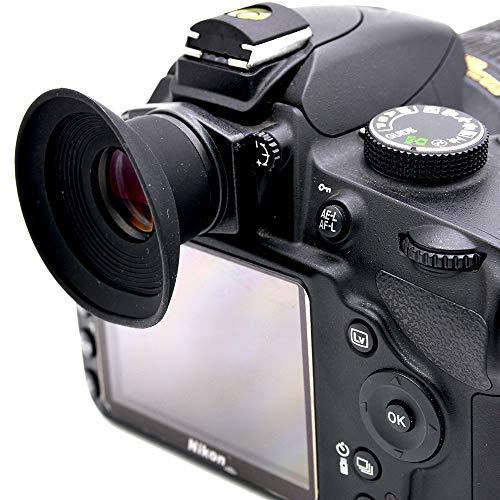 Accrie - Lupa ocular para cámaras réflex Canon Nikon Pentax Olympus Sony Fujifim Samsung Sigma Minoltaz