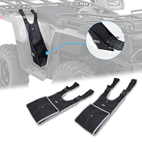 MFC Universal Adjustable Foldable Passenger Footrest Rear Passenger Foot Pegs Foot Rest Foot Pedestal Fit For ATV Sportsman Foreman (2 PCS)