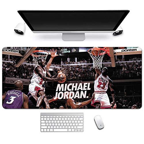 Tappetino per Mouse NBA Guerrieri Basket di Grandi Dimensioni Lakers Curry Corby Jordan Irving James Durant Tovaglietta-900 * 400 * 3MM-A_900*400 * 3MM