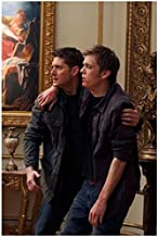 Jake Abel as Adam Milligan / Michael and Jensen Ackles as Dean Winchester in Supernatural 8 x 10 Inch Photo