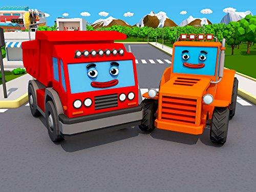 Rot Lastwagen und...