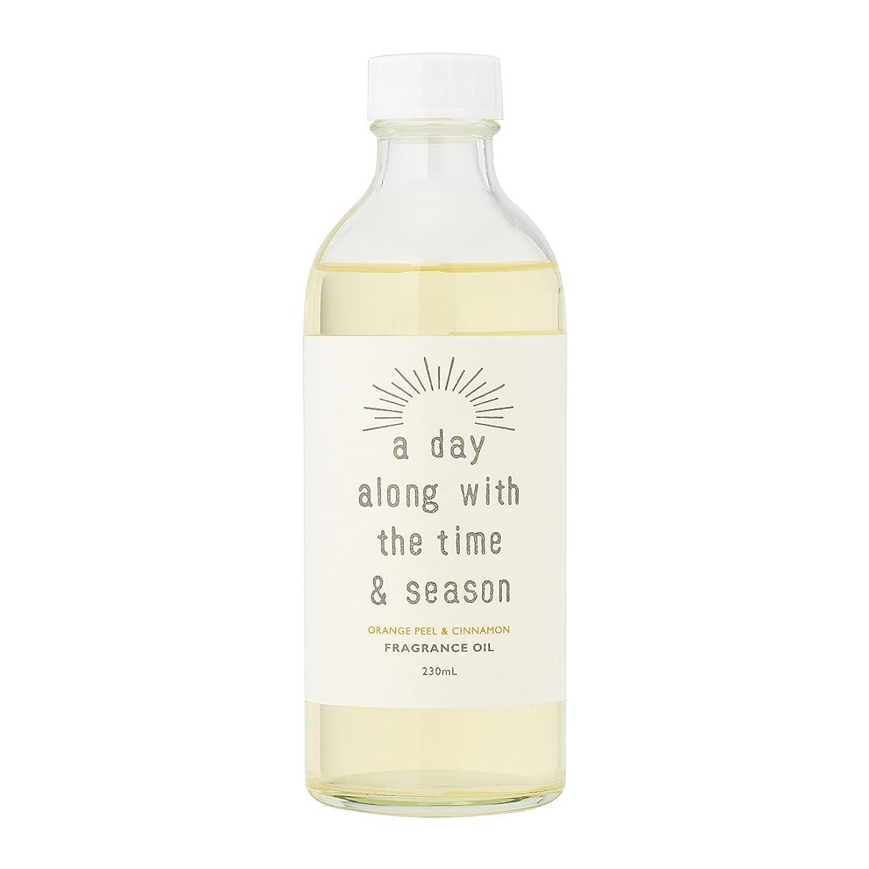 心理的にパックコンクリートアデイ(a day) リードディフューザー リフィル オレンジピール&シナモン 230ml(芳香剤 詰め替え用 甘酸っぱくて爽やかなオレンジピールにシナモンがふわりと広がる香り)