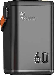 Bärbar laddare 36W Power Bank Snabbladdning 60000 mah, Utomhus Power Station Externt batteripaket 4 USB Snabbtelefonladdar...
