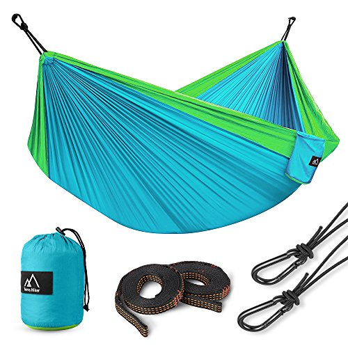 Terra Hiker Hamac de Camping, Nylon à Parachute,...
